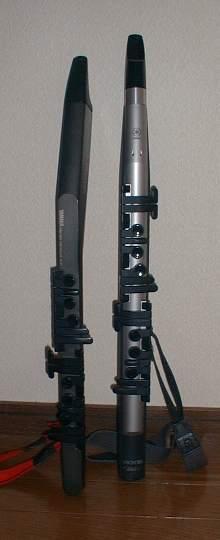 ウィンドシンセ YAMAHA WX11 & WX5